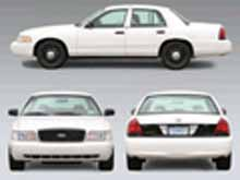 Ford Crown Victoria Unmarked Police Vehicle